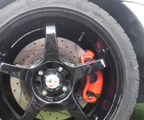 Powder Coated Brake Calipers Norfolk